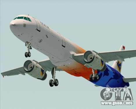 Airbus A321-200 Myanmar Airways International para el motor de GTA San Andreas