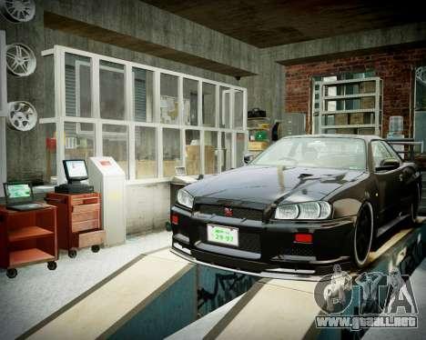 Garaje con nuevo interior Alcalina para GTA 4