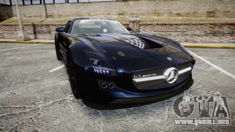 Mercedes-Benz SLS AMG GT-3 high para GTA 4
