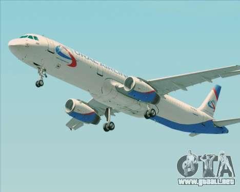 Airbus A321-200 Ural Airlines para las ruedas de GTA San Andreas