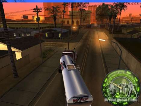 Velocímetro HITMAN para GTA San Andreas sexta pantalla