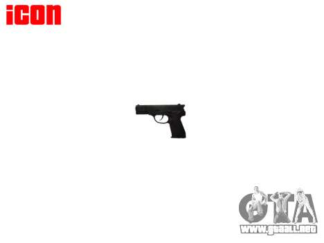 Pistola de QSZ-92 para GTA 4 tercera pantalla