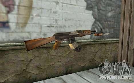 AK47 from Firearms v1 para GTA San Andreas segunda pantalla