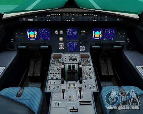 Airbus A321-200 Air Canada para GTA San Andreas interior
