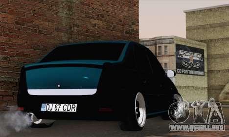 Dacia Logan 1.6 DJ para GTA San Andreas left