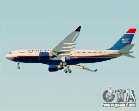 Airbus A330-200 US Airways para la visión correcta GTA San Andreas