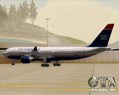 Airbus A330-200 US Airways para las ruedas de GTA San Andreas