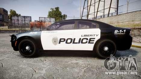 Dodge Charger 2015 LPD CHGR [ELS] para GTA 4 left