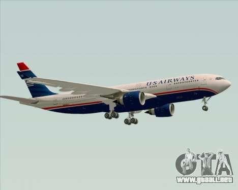Airbus A330-200 US Airways para visión interna GTA San Andreas