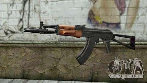 El AK-105 para GTA San Andreas