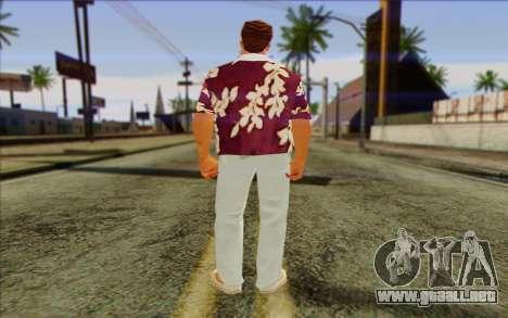 Diaz Gang from GTA Vice City Skin 1 para GTA San Andreas segunda pantalla