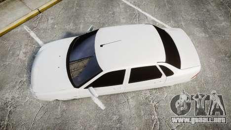 VAZ-2170 de escape AMG para GTA 4 visión correcta