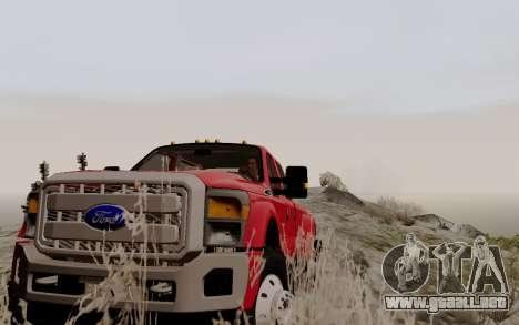 ENBSeries For Low PC v3.0 (SA:MP) para GTA San Andreas sucesivamente de pantalla
