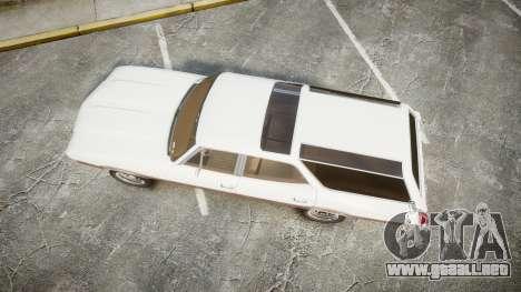Oldsmobile Vista Cruiser 1972 Rims1 Tree3 para GTA 4 visión correcta