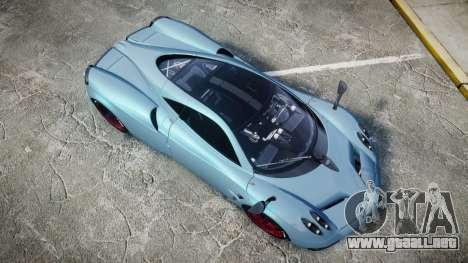 Pagani Huayra 2013 [RIV] para GTA 4 visión correcta