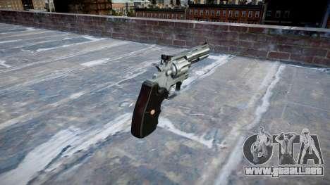 Revólver Colt Python .357 Elite para GTA 4 segundos de pantalla