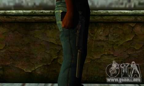 Beretta M9 Silenced para GTA San Andreas tercera pantalla