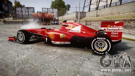 Ferrari F138 v2.0 [RIV] Massa TMD para GTA 4 left