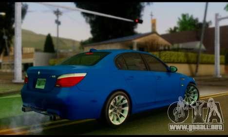 BMW M5 E60 2006 para GTA San Andreas left