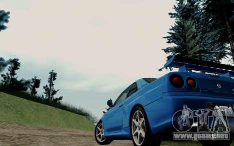 ENBSeries For Low PC v3.0 (SA:MP) para GTA San Andreas segunda pantalla
