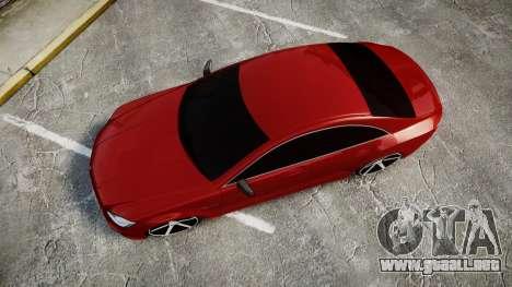 Mercedes-Benz CLS 63 AMG Vossen para GTA 4 visión correcta