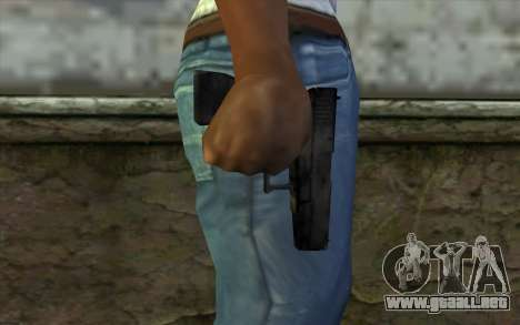 Glock from Beta Version para GTA San Andreas tercera pantalla