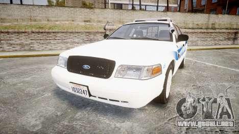 Ford Crown Victoria PS Police [ELS] para GTA 4