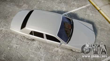 Bentley Arnage T 2005 Rims3 para GTA 4 visión correcta