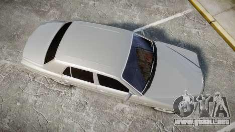Bentley Arnage T 2005 Rims3 para GTA 4 visión correcta