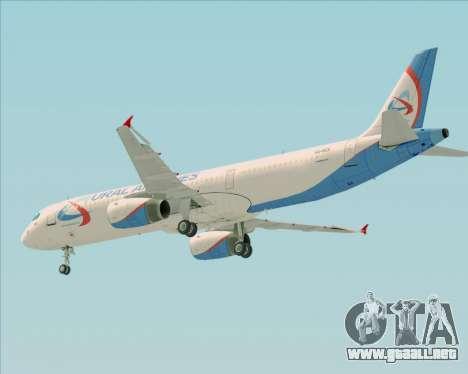 Airbus A321-200 Ural Airlines para el motor de GTA San Andreas