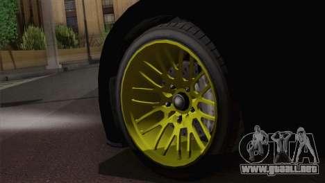 GTA 5 Adder para GTA San Andreas vista posterior izquierda