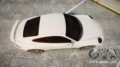 Ruf RGT-8 para GTA 4 visión correcta