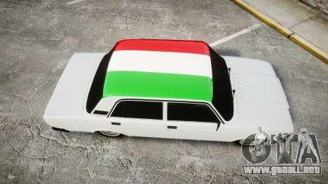 VAZ-2107 Italia para GTA 4 visión correcta