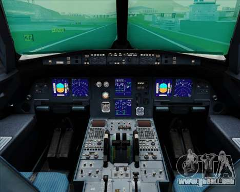 Airbus A321-200 Hansung Airlines para GTA San Andreas interior
