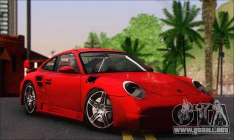 Porsche 997 Turbo Tunable para la visión correcta GTA San Andreas