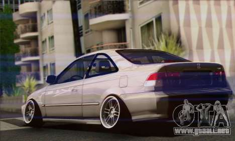 Honda Civic Si Coupe para GTA San Andreas left