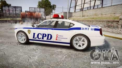 Bravado Buffalo Police para GTA 4 left