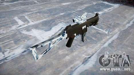 Pistola de UMP45 Calaveras para GTA 4 segundos de pantalla