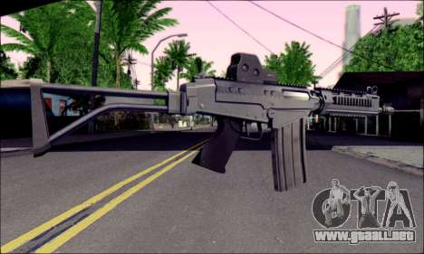 SA58 OSW v2 para GTA San Andreas segunda pantalla