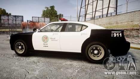 GTA V Bravado Buffalo LS Police [ELS] para GTA 4 left