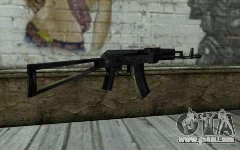 АКС-74 de la Paranoia para GTA San Andreas segunda pantalla
