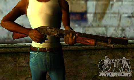 Shotgun from Gotham City Impostors v1 para GTA San Andreas tercera pantalla