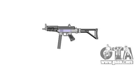 Pistola Taurus MT-40 buttstock1 icon4 para GTA 4 tercera pantalla