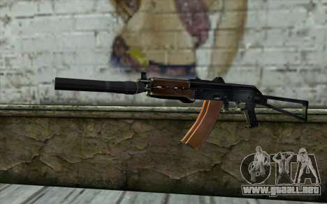 AKS-74U con PBS-5 para GTA San Andreas