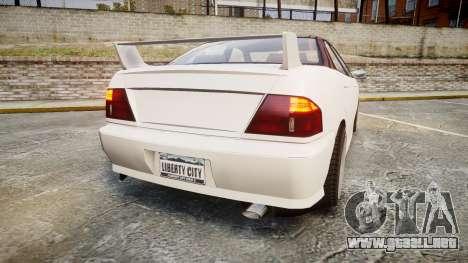 Dinka Chavos HSX para GTA 4 Vista posterior izquierda