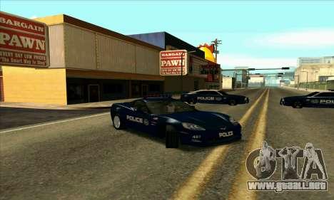 FCPD Chevrolet Corvette Z06 para GTA San Andreas