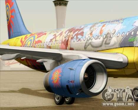 Airbus A321-200 para el motor de GTA San Andreas