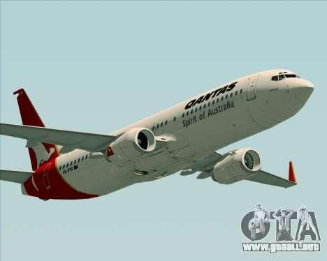 Boeing 737-838 Qantas (Old Colors) para el motor de GTA San Andreas