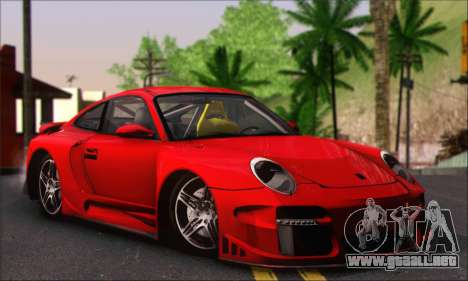 Porsche 997 Turbo Tunable para visión interna GTA San Andreas