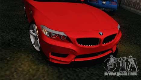 BMW Z4 sDrive28i 2012 Racing para la visión correcta GTA San Andreas
